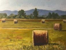 Field of Haystacks. Orrick.